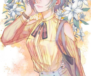 tokyo ghoul, anime, and touka image