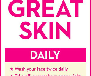beauty, skin, and skin care image