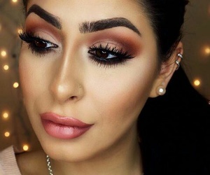 eyebrows, glam, and gorgeous image