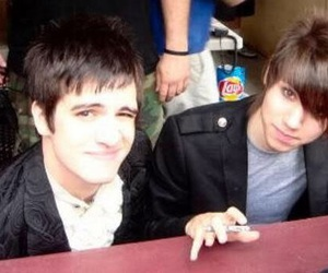 brendon urie, ryan ross, and panic! at the disco image