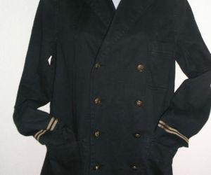 denim, fashion, and jacket image
