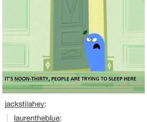 funny, tumblr, and sleep image