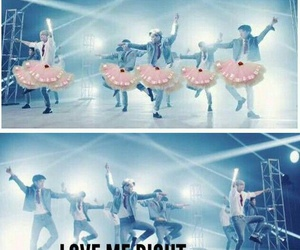 exo, kpop, and love me right image