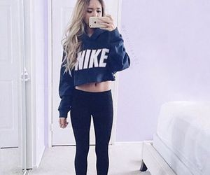 nike and outfit image