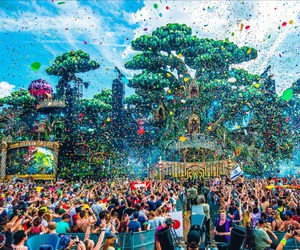 electronic, music festival, and festival image