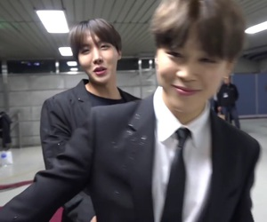 bts, jhope, and jimin image