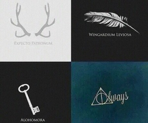 harry potter, always, and alohomora image