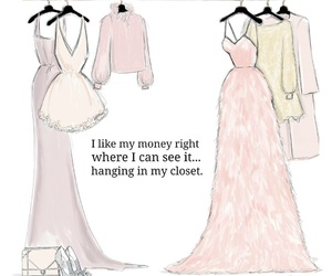 girly, quotes, and art image