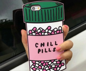 girly phone cases and chill pills phone cases image