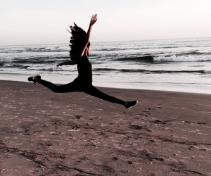 ballet, beach, and couples image