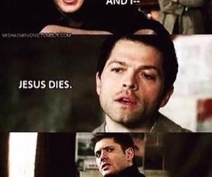 supernatural, castiel, and funny image