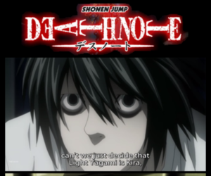 anime, shonen jump, and deathnote image