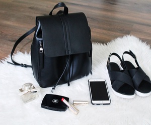 backpack, beautiful, and chanel image