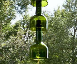 recycled bottles, recycled wine bottles, and recycled glass bottles image