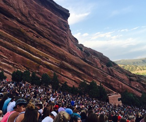 concert, experience, and mountains image