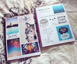 notebook and school image