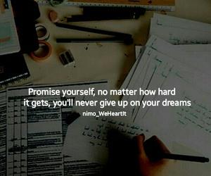 exams, work hard, and inspiration image