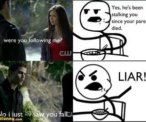 funny, tvd, and the vampire diaries image