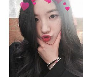 selca, trainee, and park siyeon image