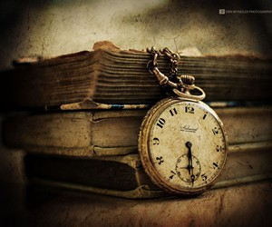 cream, pocket watch, and old vintage image