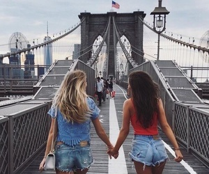 friends, girl, and bff image