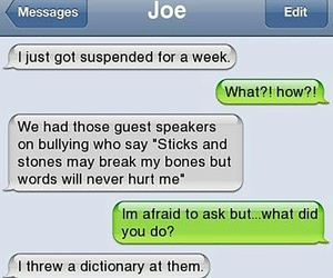funny, words, and dictionary image