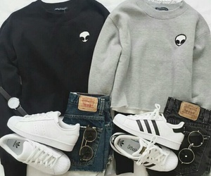 adidas, clothes, and shoes image