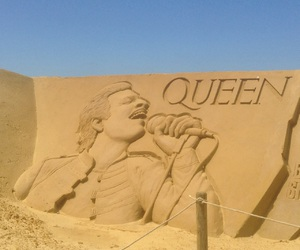 belgium, sand sculpture, and oostende image