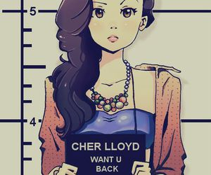 cher lloyd, drawing, and want u back image