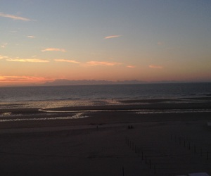 beach, sunset, and no filter image