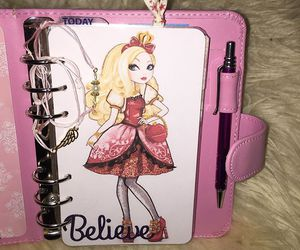 agenda and pink image