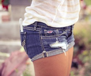 shorts, hollister, and summer image