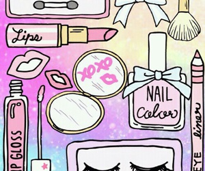 wallpaper, makeup, and background image