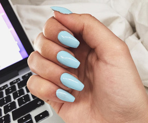 blue, girls, and fashion image