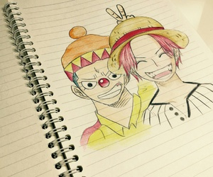 buggy, onepiece, and shanks image