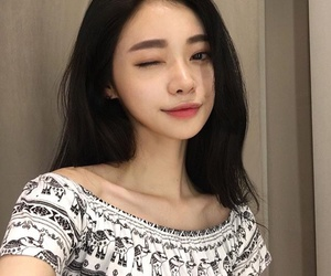 korean, asian, and asian girl image