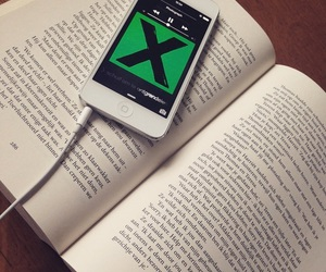 book, ed sheeran, and music image