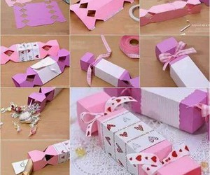 diy, gift, and pink image