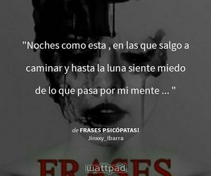 frases, terror, and wattpad image