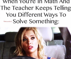 pll, math, and pretty little liars image