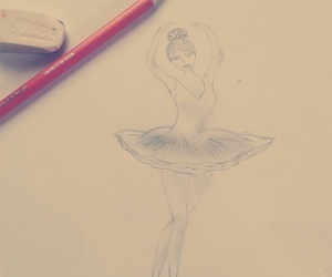 ballerina, be kreative, and dance image