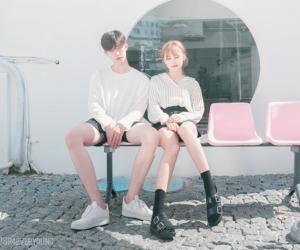 couple, fashion, and style image