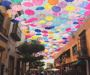 mexico, umbrella, and colors image