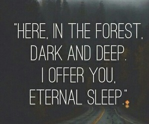 forest, goth, and dark image