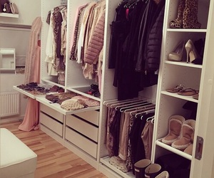 fashion, clothes, and closet image