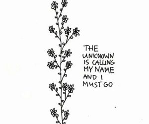 quote, tumblr, and flowers image