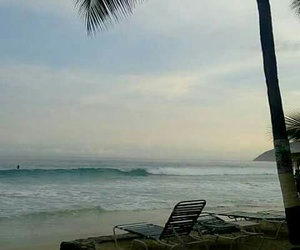 beach, vacation, and sea image