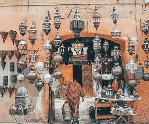 adventure, desert, and lamps image