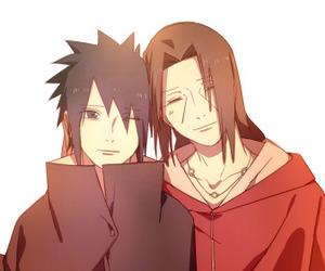 naruto, brothers, and sasuke image