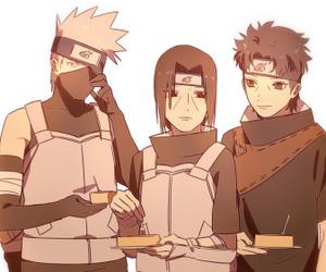 anime, naruto, and uchiha itachi image